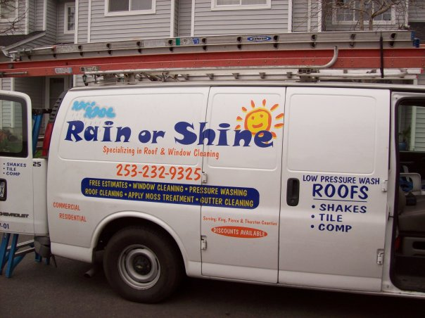 Rain or shine van